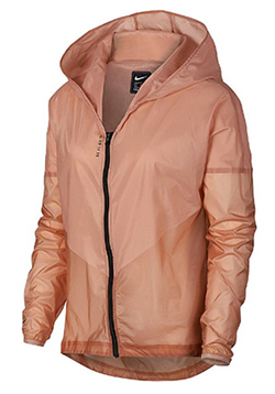 Nike Kapuzenjacke Laufjacke für Damen rose gold-reflect