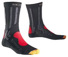 X-SOCKS - Sky Run 2.0 Laufsocken schwarz/orange